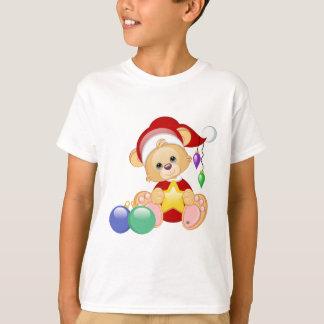 WeihnachtsTeddybär mit Stern T-Shirt