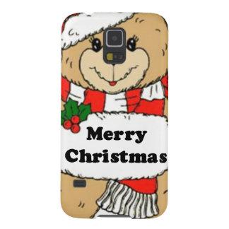 WeihnachtsTeddybär-Mitteilung Samsung Galaxy S5 Cover