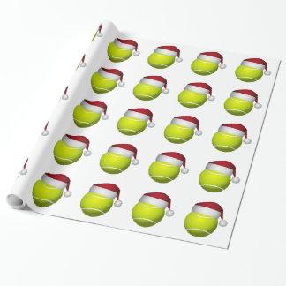 WeihnachtsTennisball Geschenkpapier