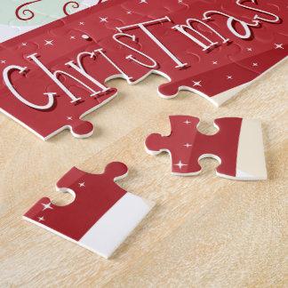Weihnachtsthema-Puzzlespiel