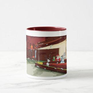 Weihnachtstrichter-Tasse Tasse