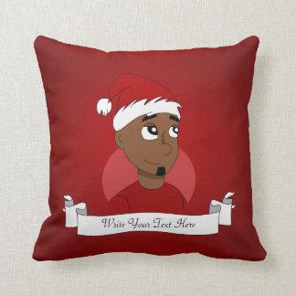 WeihnachtsTyp-Cartoon Kissen