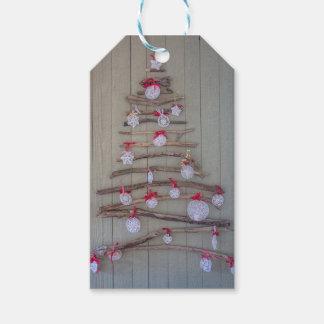 Weihnachtsumbaubaum Geschenkanhänger