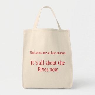Weihnachtsunicorns Elf-kaufenTaschen-Tasche Tragetasche