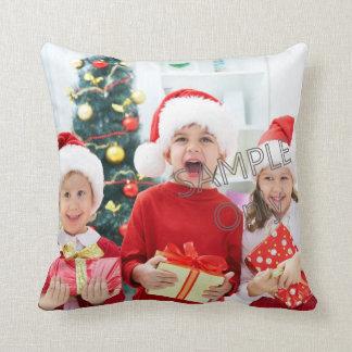 WeihnachtsweihnachtsFoto-Schablonenkinder oder Kissen
