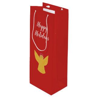 Weihnachtswein-Geschenk-Taschen-Gewohnheit Geschenktüte Für Weinflaschen