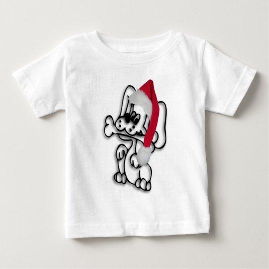 Weihnachtswelpe Baby T-shirt