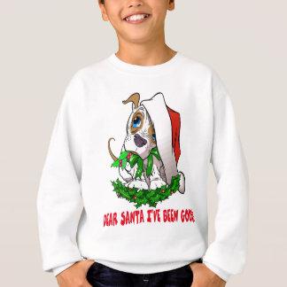 Weihnachtswelpen-Shirt Sweatshirt