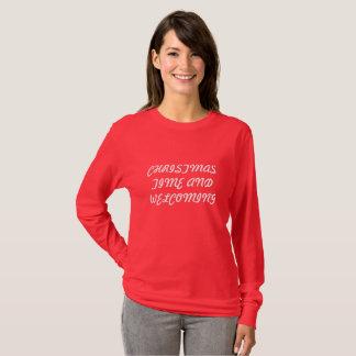 WEIHNACHTSwillkommen T-Shirt