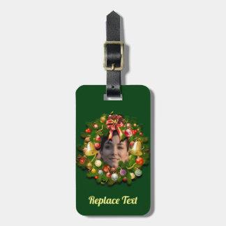 WeihnachtsWreath besonders angefertigt mit Ihrem Kofferanhänger