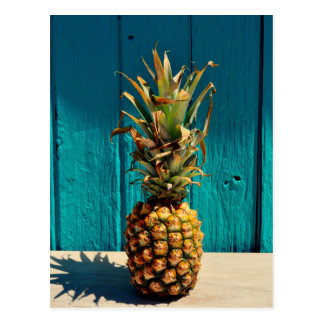 Weil Ananas Postkarte