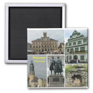 Weimar Quadratischer Magnet