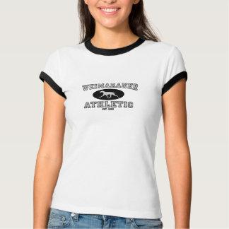 Weimaraner athletisch T-Shirt