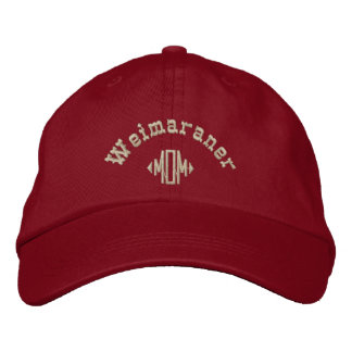 Weimaraner Mamma-Geschenke Bestickte Baseballkappe