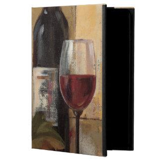 Wein-Flasche und Wein-Gläser