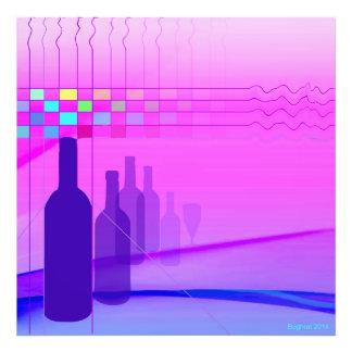Wein-Flaschen Kunstphotos