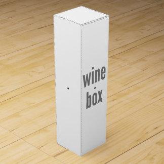 Wein-Geschenkboxen-Fülle-Schablone Weinbox