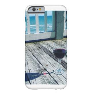 Wein-Glas durch den Ozean-Telefon-Kasten Barely There iPhone 6 Hülle