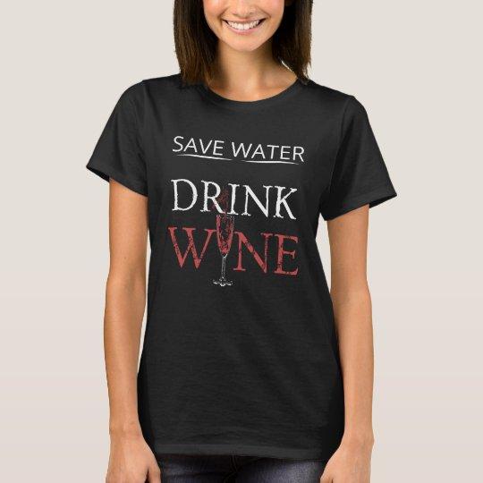 Wein Glas Zitat T Shirt Lustige Sprüche T Shirt