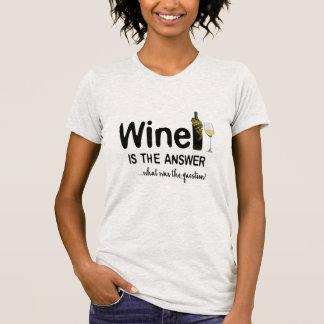 Wein ist die T - Shirt-Entwurf Geschenkidee der T-Shirt