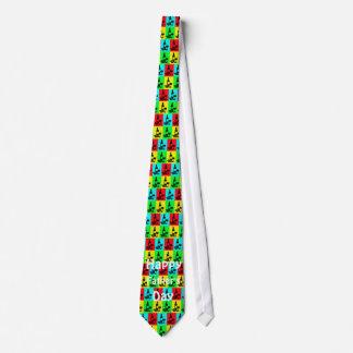 Wein-Krawatte Pop-Kunst der Vatertag Individuelle Krawatte