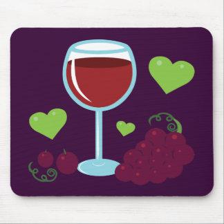 Wein-Liebhaber Mousepads