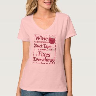 Wein repariert alles… Shirt