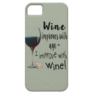 Wein verbessert mit Alter, das ich mit Barely There iPhone 5 Hülle