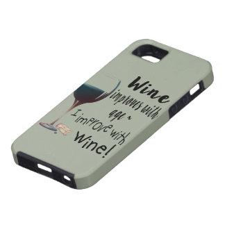 Wein verbessert mit Alter, das ich mit Tough iPhone 5 Hülle