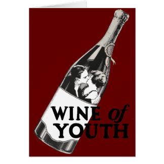 Wein von Jugend Karte