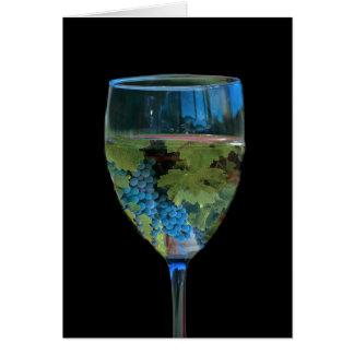 Wein-/Wein-Liebhaber-Weinberg-Gruß-Karte Karte