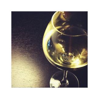 Wein-Zeit Leinwanddruck
