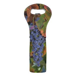 Weinberg-Weintraube-Wein-Flaschen-Taschen-Tasche Weintasche