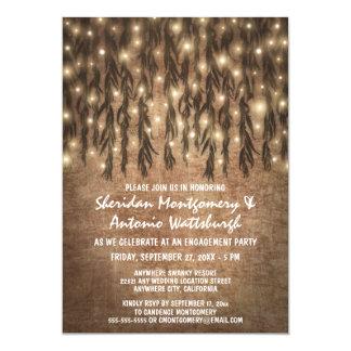 Weinende Weide-Baum-Verlobungs-Party Einladungen