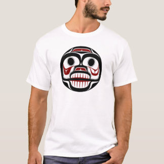 Weinender Schädel Nordwestpazifikküste Haida T-Shirt
