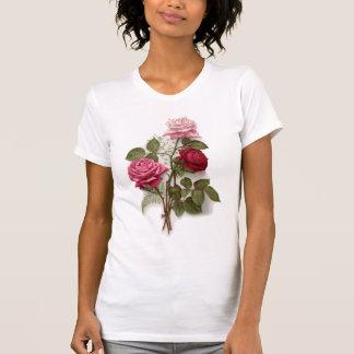 Weinlese-Rosen-T - Shirt