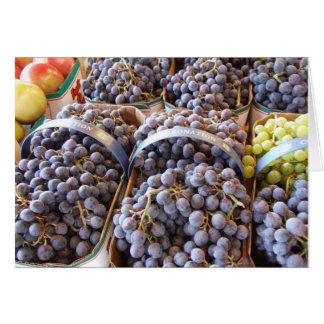 Weintrauben Notecard, durch Brad Hines Karte