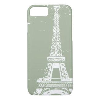 Weiser Eiffelturm iPhone 7 Fall iPhone 8/7 Hülle