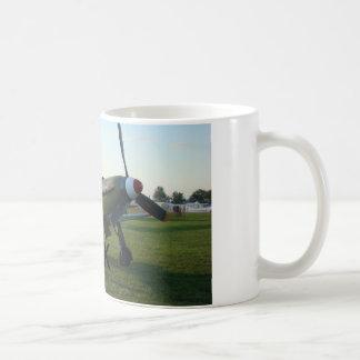 Weiß 11 Unze-Yak-Kämpfer Kaffeetasse