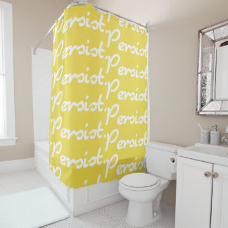 Weiß besteht Vorhang-Schutztuch-Hintergrund weiter Duschvorhang
