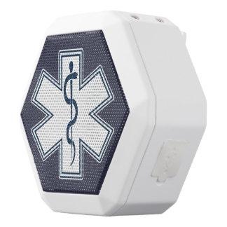 Weiß-Emblem des Sanitäter-EMT EMS Weiße Bluetooth Lautsprecher