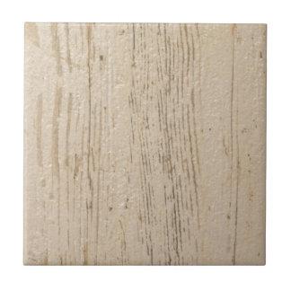 Weiß gewaschenes hölzernes Korn Keramikfliese