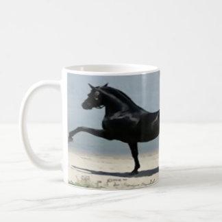 weiß, klassisch, kundenspezifisch, Tasse, Pferd, Kaffeetasse