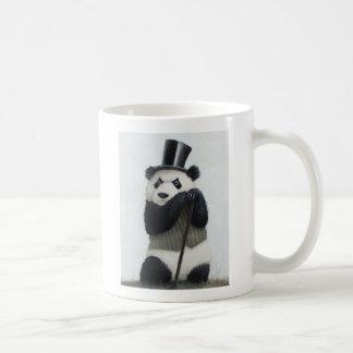 Weiß-Tasse Percival-Pandas 11oz Kaffeetasse