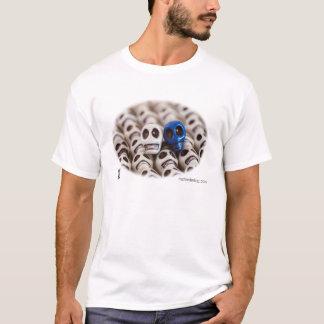 Weiß und Blau T-Shirt