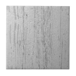 Weiß und Grau gewaschenes hölzernes Korn Keramikfliese