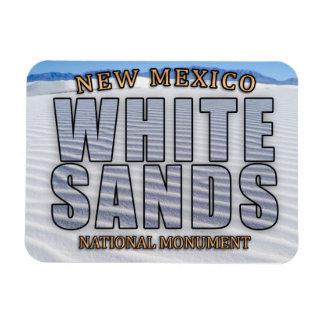Weiß versandet nationales Monument-Magneten Magnet