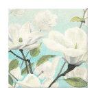 Weiße Blüten vom Süden Leinwanddruck