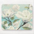 Weiße Blüten vom Süden Mousepad
