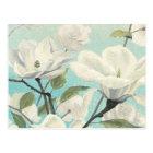 Weiße Blüten vom Süden Postkarte